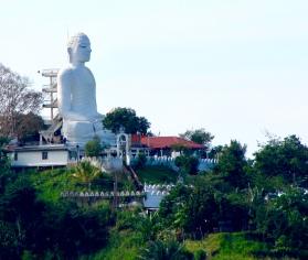 Big Buddha overlooks Kandy